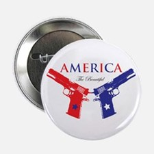 "Guns 2.25"" Button (100 pack)"