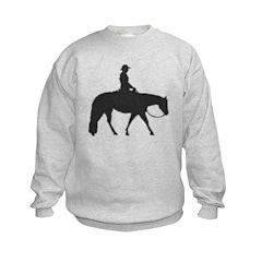 Male Pixel Pleasure Horse Sweatshirt