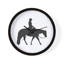 Male Pixel Pleasure Horse Wall Clock