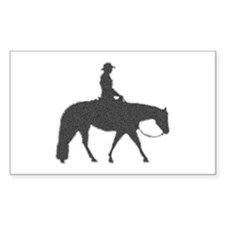 Male Pixel Pleasure Horse Rectangle Decal
