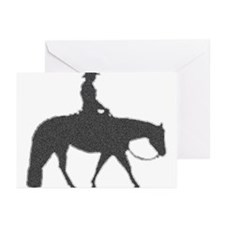 Male Pixel Pleasure Horse Greeting Cards (Pk of 20