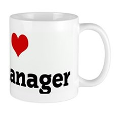 I Love my manager Mug