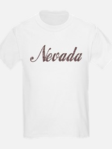 Vintage Nevada Kids T-Shirt