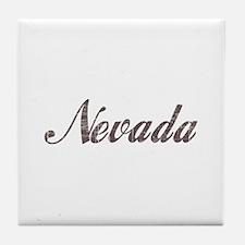 Vintage Nevada Tile Coaster