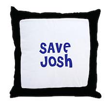 Save Josh Throw Pillow