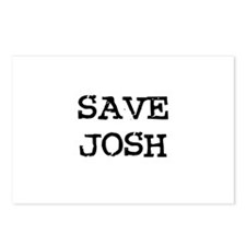 Save Josh Postcards (Package of 8)