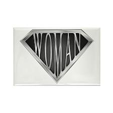SuperWoman(metal) Rectangle Magnet (100 pack)