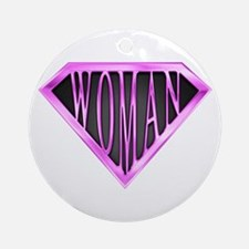 SuperWoman(Pink) Ornament (Round)