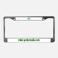 Funny Inside License Plate Frame