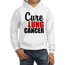 Cure Lung Cancer Jumper Hoody