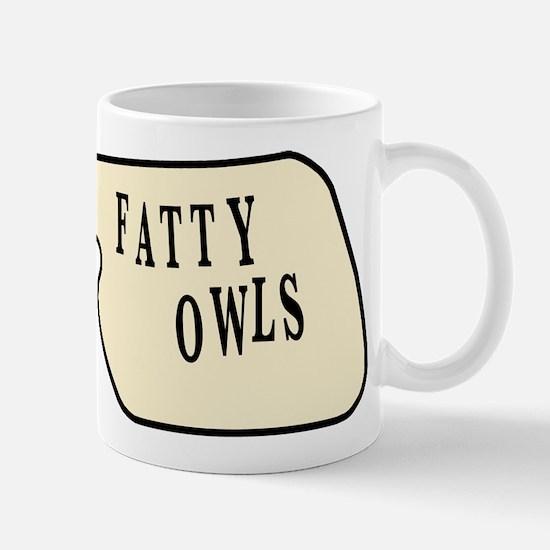 Fatty Owls Mug