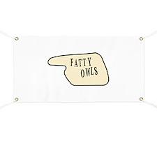 Fatty Owls Banner