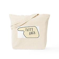Fatty Owls Tote Bag
