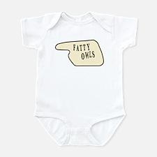 Fatty Owls Infant Bodysuit