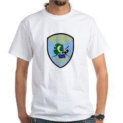 Petersburg Police White T-Shirt