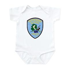 Petersburg Police Infant Bodysuit