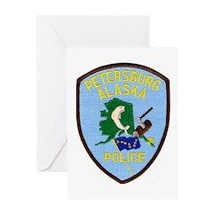 Petersburg Police Greeting Card