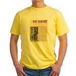 Doc Carver Yellow T-Shirt