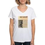 Doc Carver Women's V-Neck T-Shirt