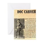 Doc Carver Greeting Cards (Pk of 20)