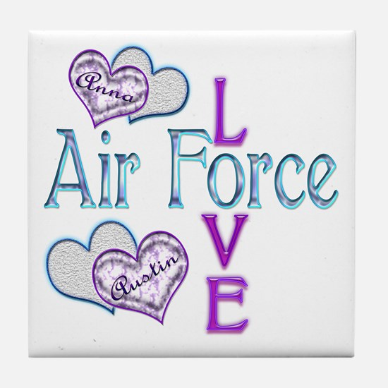 AF Love Anna and Austin Tile Coaster