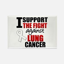 I Support The Fight (LC) Rectangle Magnet