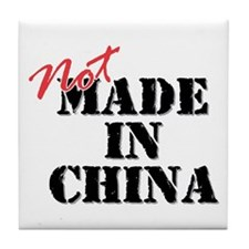 Not Made In China Tile Coaster