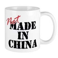 Not Made In China Small Mug