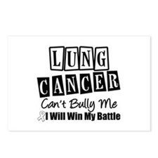 Lung Cancer Can't Bully Me Postcards (Package of 8