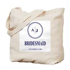 A J BRIDESMAID Tote Bag