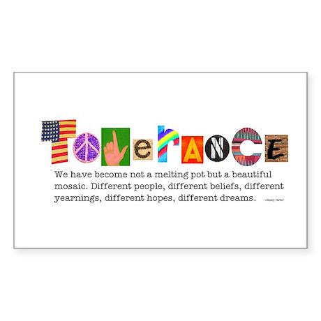 Tolerance Rectangle Sticker