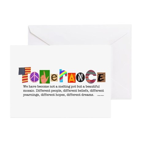 Tolerance Greeting Cards (Pk of 10)