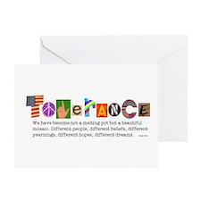 Tolerance Greeting Card