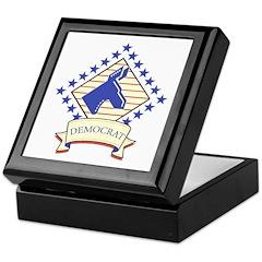 Democrat Keepsake Box