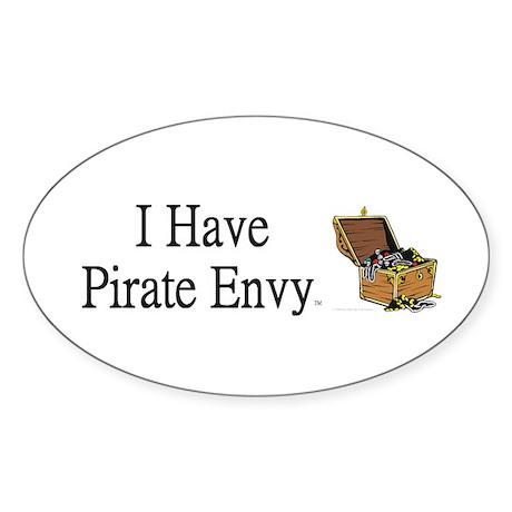 Pirate Envy Sticker (Oval 50 pk)