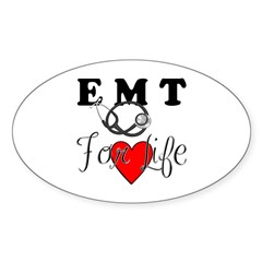 EMT For Life Decal