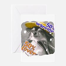 Unique Affenpinscher lover Greeting Card