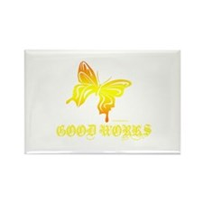 GOOD WORKS Rectangle Magnet (10 pack)