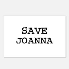Save Joanna Postcards (Package of 8)