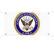 US Navy Emblem Banner