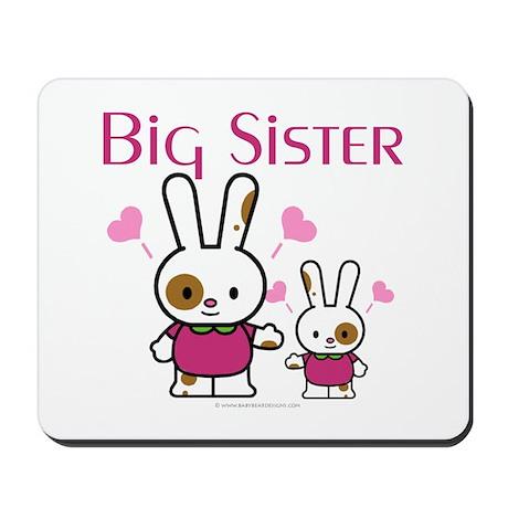 Bunnies Big Sister Mousepad