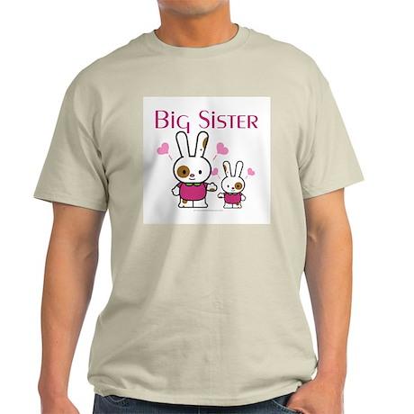 Bunnies Big Sister Light T-Shirt