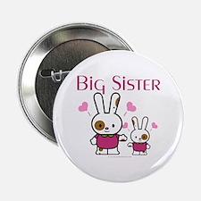 "Bunnies Big Sister 2.25"" Button"