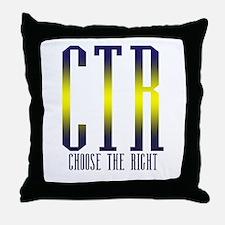 CTR Throw Pillow