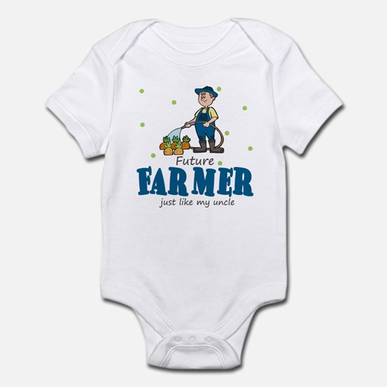 Future Farmer Like Uncle Baby Infant Bodysuit
