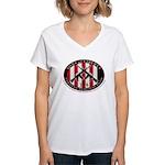 Tyranny Response Team Women's V-Neck T-Shirt