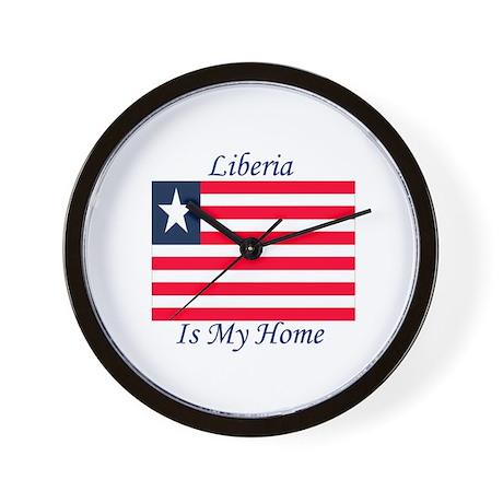 Liberia is my Home Wall Clock