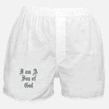 I AM A SON OF GOD Boxer Shorts