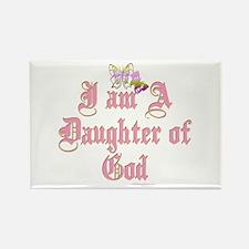 I AM A DAUGHTER OF GOD Rectangle Magnet
