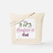 I AM A DAUGHTER OF GOD Tote Bag
